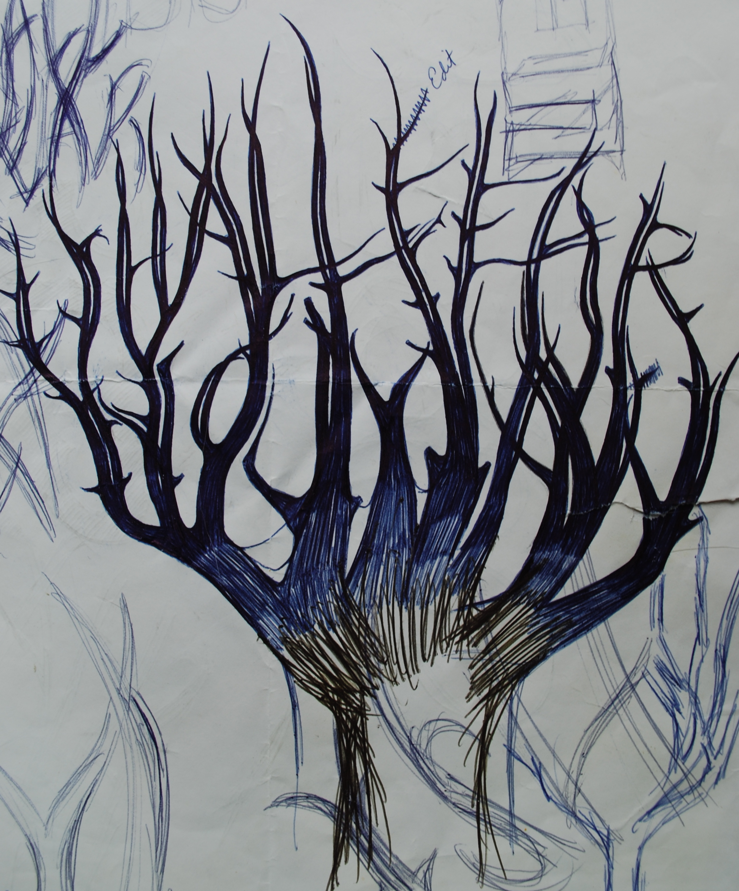 Art and graphic design ii for Tree of knowledge of good and evil tattoo